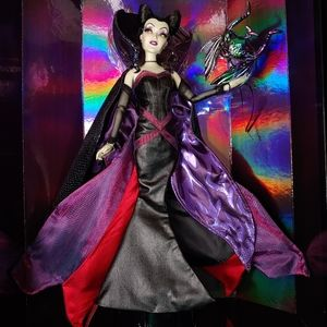 NIB Disney Midnight Masquerade Villains Maleficent
